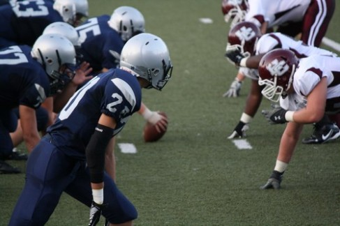 Reitz squares off with the Colonels in their home opener last year